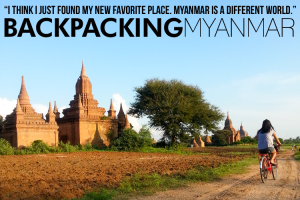 BACKPACKING Myanmar
