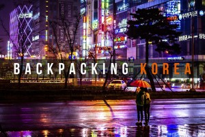 Backpacking Korea