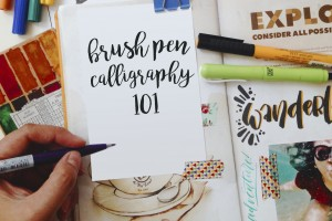 Brush Pen Calligraphy 101