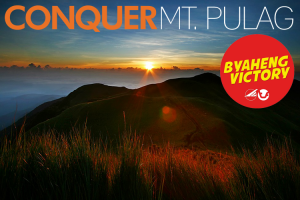 BYAHENG VICTORY CONQUER Mt. Pulag