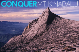 CONQUER Mt. Kinabalu