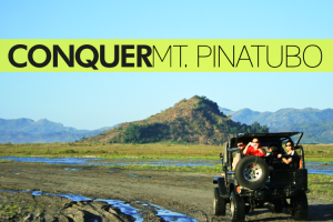 CONQUER Mt. Pinatubo