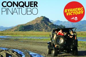 Byaheng Victory CONQUER Pinatubo