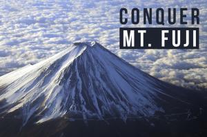 Conquer Mt. Fuji