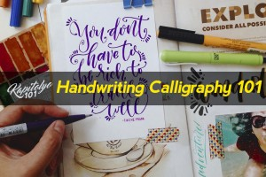 Handwriting Calligraphy 101