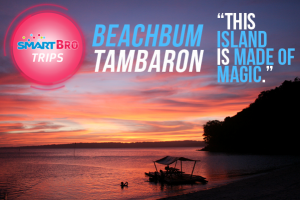 Beachbum Tambaron #SmartBroTrips
