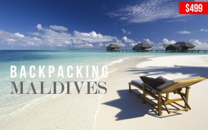 BACKPACKING MALDIVES