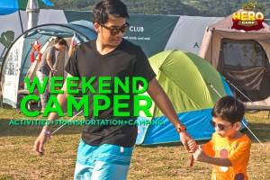 Weekend Camper: Activities + Transportation + Camping
