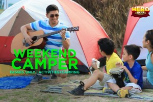 Weekend Camper Passes Only: Activities + Camping